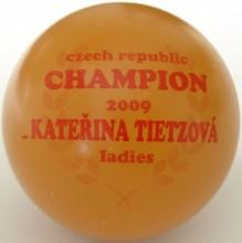 Czech Champion ladies 2009 Kateřina Tietzová