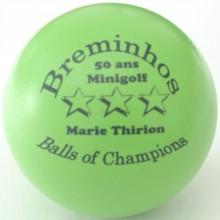 50 ans minigolf BOC Marie Thirion